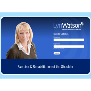 Exercise & Rehabilitation of the Shoulder (Website)